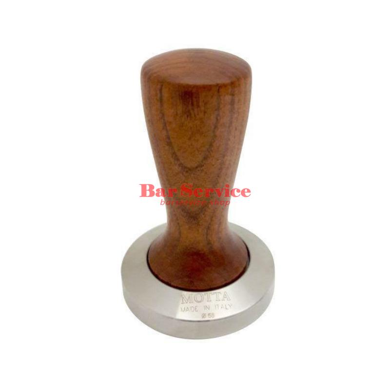 Темпер Мотта SLIM 58 мм. (плоский) рукоятка из дерева в Мурманске