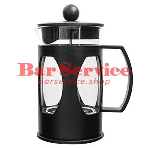 Чайник-кофейник Черный Объем: 600 мл. (френч пресс) в Мурманске
