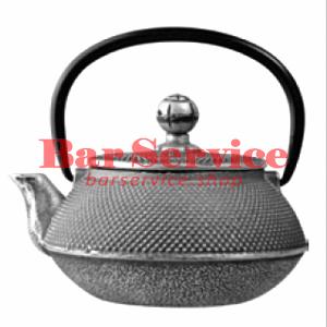Чайник с ситечком; чугун; 650 мл; D=8.7,H=9.4,L=14.5; черный в Мурманске