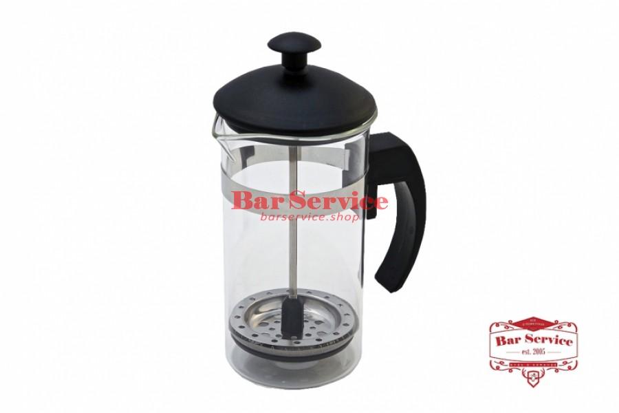 Чайник-кофейник Черный Объем: 350 мл. (френч пресс) в Мурманске